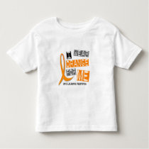 Leukemia I Wear Orange For ME 37 Toddler T-shirt