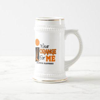 Leukemia I WEAR ORANGE FOR ME 9 Coffee Mugs