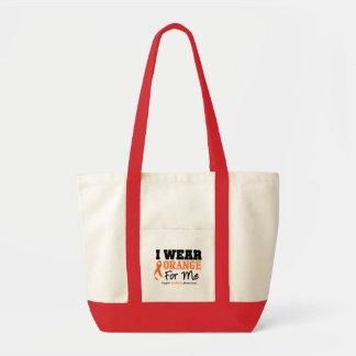 Leukemia I Wear Orange For Me Bag