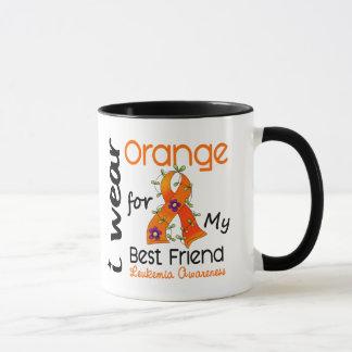 Leukemia I Wear Orange For My Best Friend 43 Mug