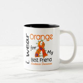 Leukemia I Wear Orange For My Best Friend 43 Mugs