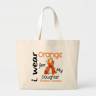 Leukemia I Wear Orange For My Daughter 43 Bags