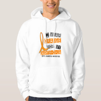 Leukemia I Wear Orange For My Daughter-In-Law 37 Hoodie