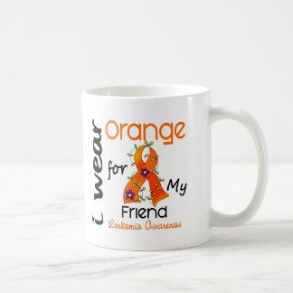 Leukemia I Wear Orange For My Friend 43 Coffee Mug