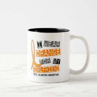 Leukemia I Wear Orange For My Girlfriend 37 Mugs