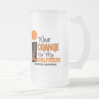 Leukemia I WEAR ORANGE FOR MY GIRLFRIEND 9 Coffee Mug