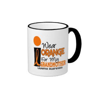 Leukemia I WEAR ORANGE FOR MY GRANDMOTHER 9 Coffee Mug