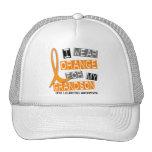 Leukemia I Wear Orange For My Grandson 37 Hats