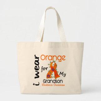 Leukemia I Wear Orange For My Grandson 43 Bags