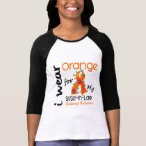 Leukemia I Wear Orange For My Sister-In-Law 43 T-Shirt