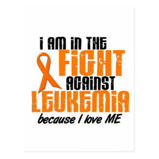 LEUKEMIA In The Fight For Me 1 Postcard