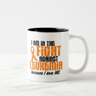 LEUKEMIA In The Fight For Me 1 Two-Tone Coffee Mug