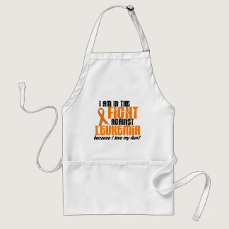 LEUKEMIA In The Fight For My Aunt 1 Adult Apron