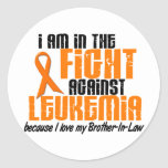LEUKEMIA In The Fight For My Brother-In-Law 1 Sticker