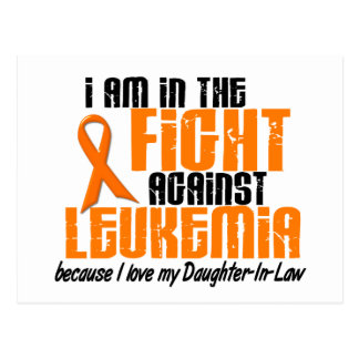 LEUKEMIA In The Fight For My Daughter-In-Law 1 Postcard