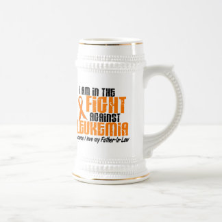 LEUKEMIA In The Fight For My Father-In-Law 1 Beer Stein
