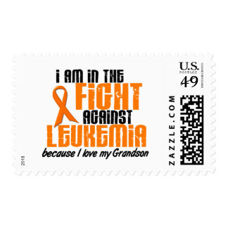 LEUKEMIA In The Fight For My Grandson 1 Postage Stamps