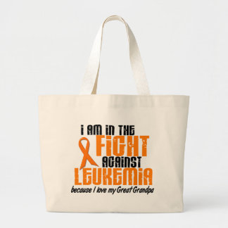 LEUKEMIA In The Fight For My Great Grandpa 1 Jumbo Tote Bag