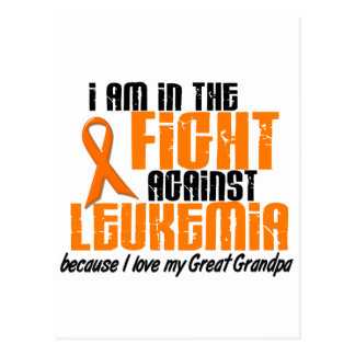 LEUKEMIA In The Fight For My Great Grandpa 1 Postcard
