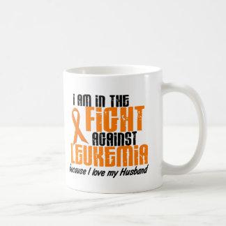 LEUKEMIA In The Fight For My Husband 1 Classic White Coffee Mug