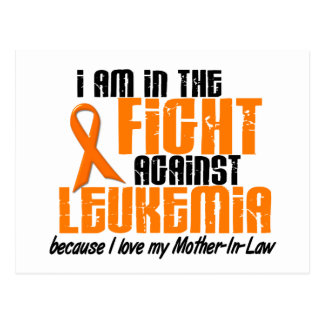LEUKEMIA In The Fight For My Mother-In-Law 1 Postcard