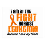 LEUKEMIA In The Fight For My Niece 1 Post Card