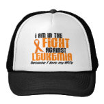 LEUKEMIA In The Fight For My Wife 1 Trucker Hat