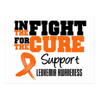 Leukemia In The Fight For The Cure Postcard