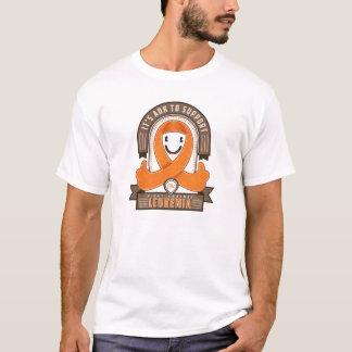 Leukemia - It's AOK Retro Charity Ribbon - Tshirt