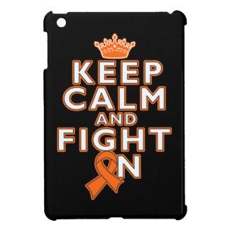 Leukemia Keep Calm Fight On iPad Mini Case