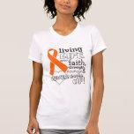Leukemia Living Life With Faith Tank