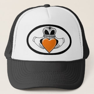 Leukemia/Lymphoma Awareness Trucker Hat