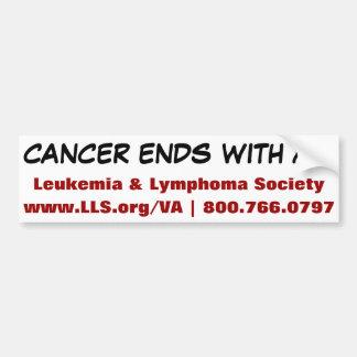 Leukemia & Lymphoma Society- Virginia Chapter Bumper Sticker