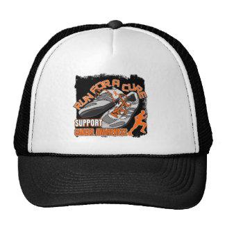 Leukemia - Men Run For A Cure Hats