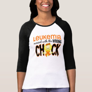Leukemia Messed With The Wrong Chick T-Shirt
