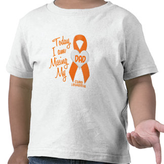 Leukemia Missing My Dad 1 T-shirts