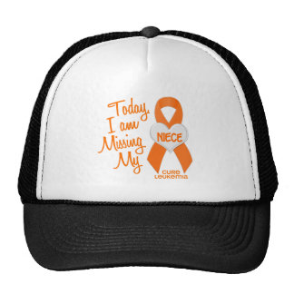Leukemia Missing My Niece 1 Mesh Hat