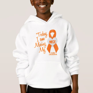 Leukemia Missing My Niece 1 Hoodie