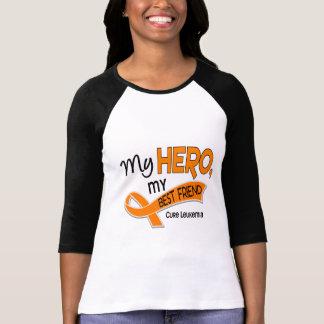 Leukemia MY HERO MY BEST FRIEND 42 T-Shirt