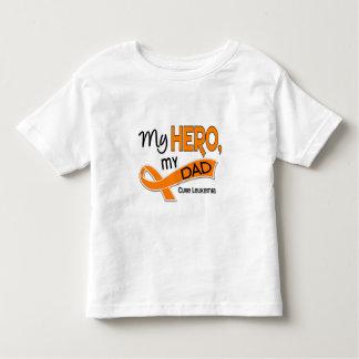 Leukemia MY HERO MY DAD 42 T-shirt