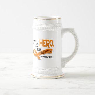 Leukemia MY HERO MY DAUGHTER 42 Coffee Mug