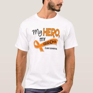 Leukemia MY HERO MY GRANDMA 42 T-Shirt