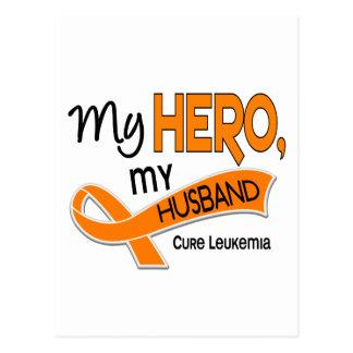 Leukemia MY HERO MY HUSBAND 42 Postcard