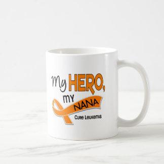 Leukemia MY HERO MY NANA 42 Coffee Mug