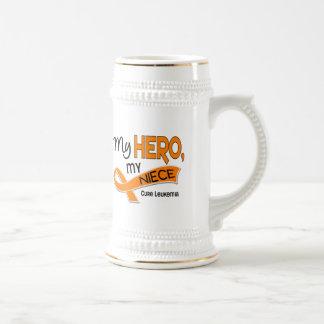 Leukemia MY HERO MY NIECE 42 Beer Stein