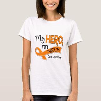 Leukemia MY HERO MY NIECE 42 T-Shirt
