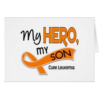 Leukemia MY HERO MY SON 42 Card