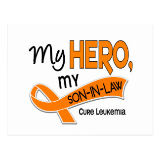 Leukemia MY HERO MY SON-IN-LAW 42 Postcard