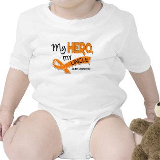 Leukemia MY HERO MY UNCLE 42 T-shirt