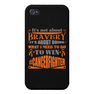 Leukemia Not About Bravery iPhone 4/4S Case
